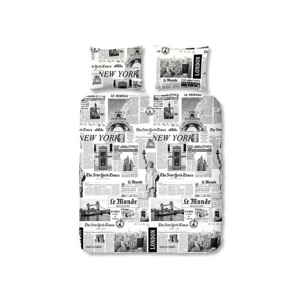 Obliečky Müller Textiel Newspaper, 240x200cm