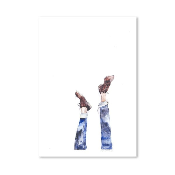 Plagát Upside Down, 30x42 cm