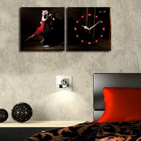 Obrazové hodiny Tanec