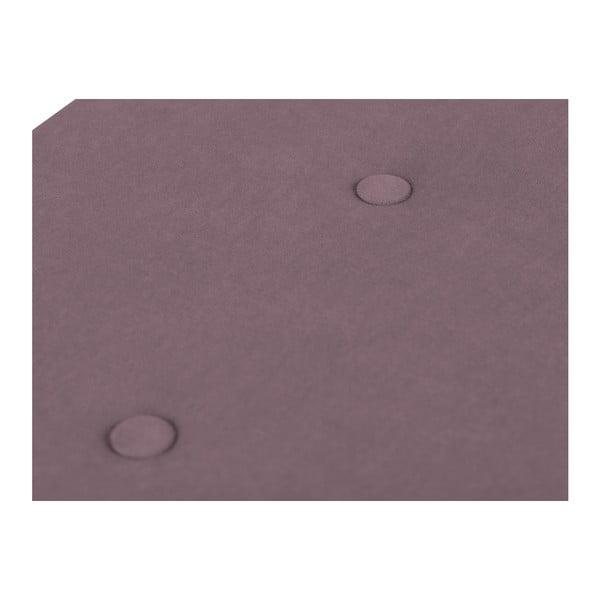 Fialová leňoška s úložným priestorom Windsor & Co Sofas Astro, , 140×47 cm