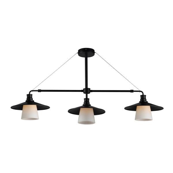 Svetlo Candellux Lighting Foft Three, čierne