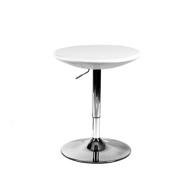 Posuvný desiatový stolík Milan, biely