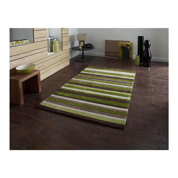 Koberec HongKong Green, 65x225 cm
