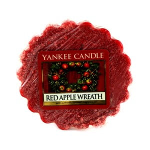 Vonný vosk do aromalampy Yankee Candle Veniec z červených jabĺčok, doba trvania vône až 8 hodín