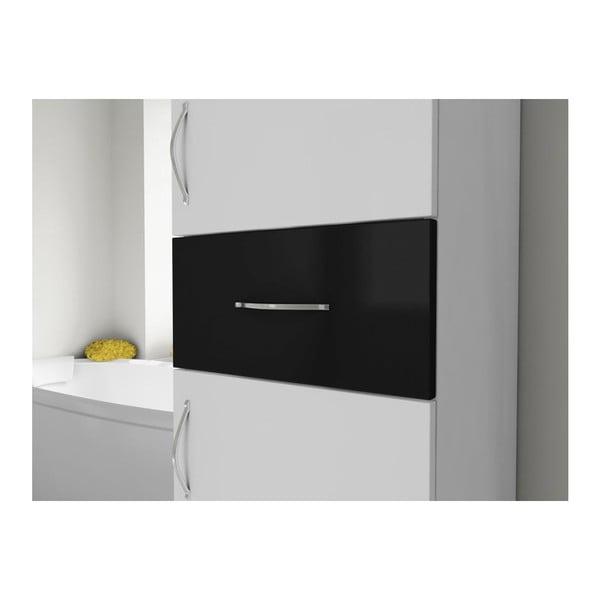 Skriňa do kúpeľne Nergis White/Black