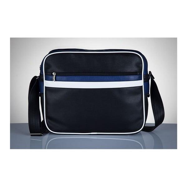 Pánska taška Solier MS1, modré detaily