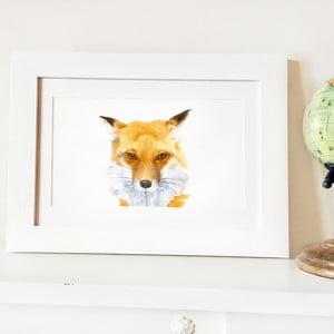 Plagát Papa Fox A4