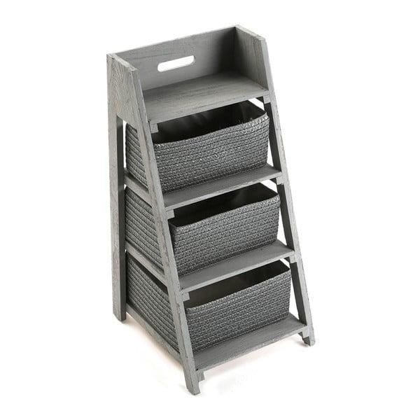 Stojan s tromi košíkmi Cabinet Grey