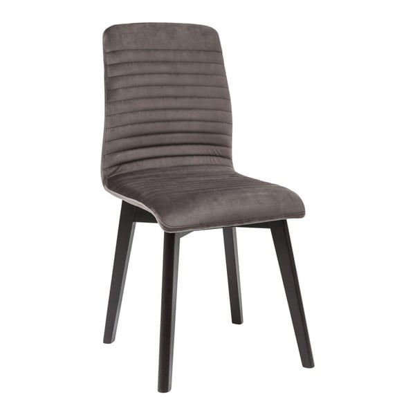 Sada 2 tmavosivých jedálenských stoličiek Kare Design Lara