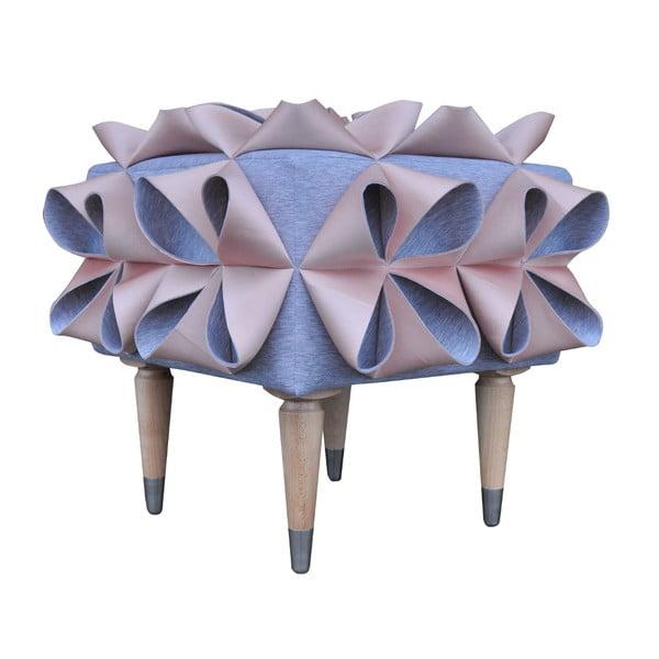 Taburetka Origami, ružová