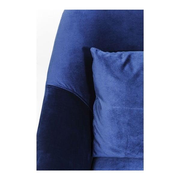 Modré kreslo Kare Design Proud