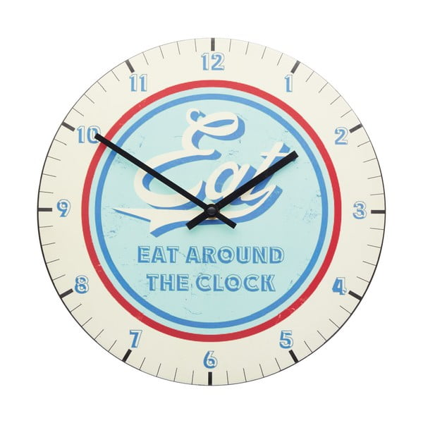 Nástenné hodiny Kitchen Craft Stateside