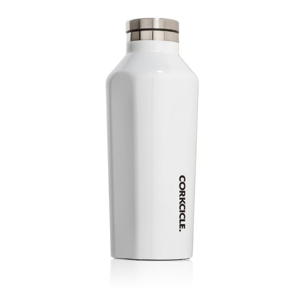 Biela termofľaša Corkcicle Canteen, 260ml