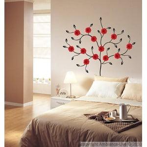 Samolepka Fanastick Red Gerbera Tree
