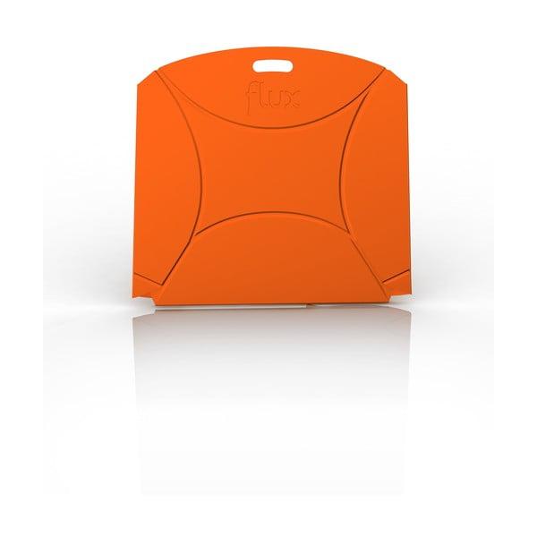 Oranžová stolička Flux