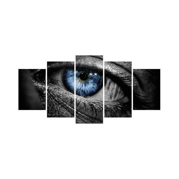 Viacdielny obraz Black&White no. 77, 100x50 cm