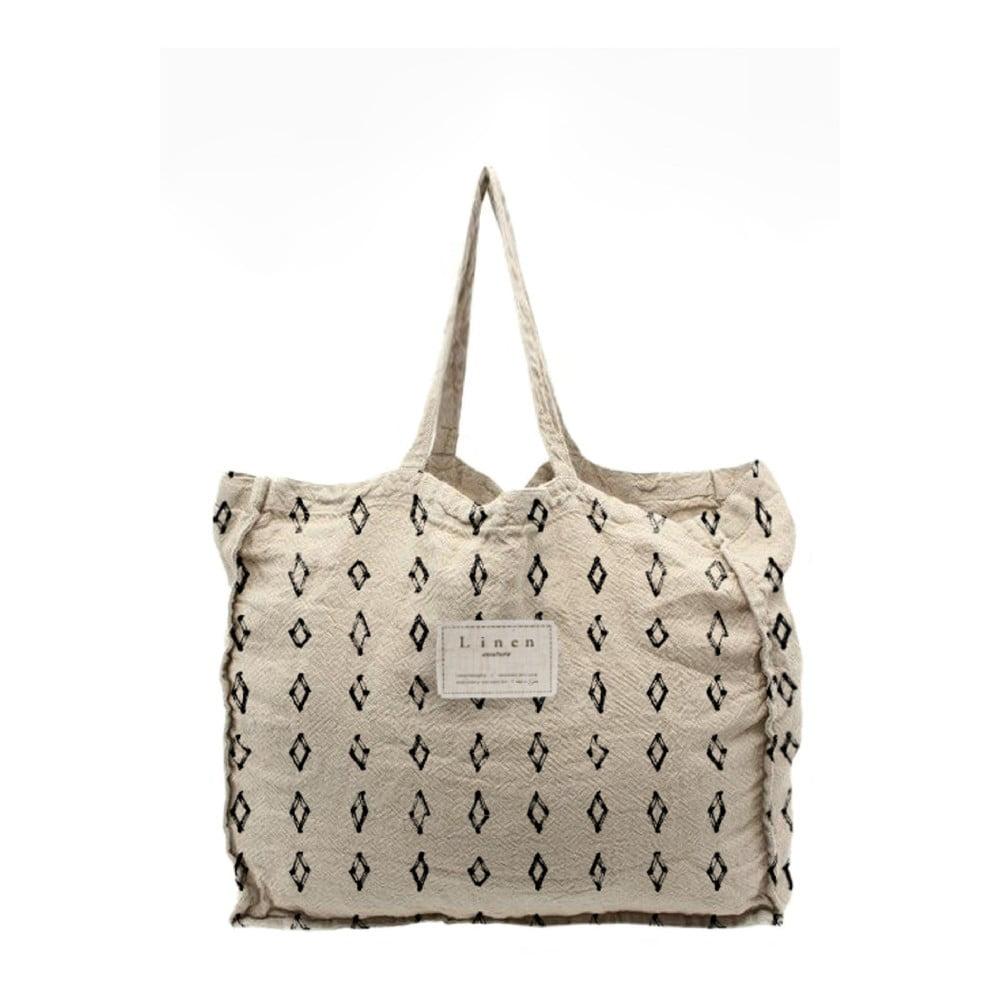Látková taška Linen Couture Bereber, šírka 50 cm