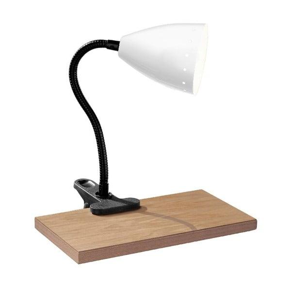 Stolná lampa Flexi White