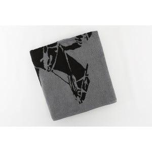 Bavlnená osuška BHPC 80x150 cm, antracitová