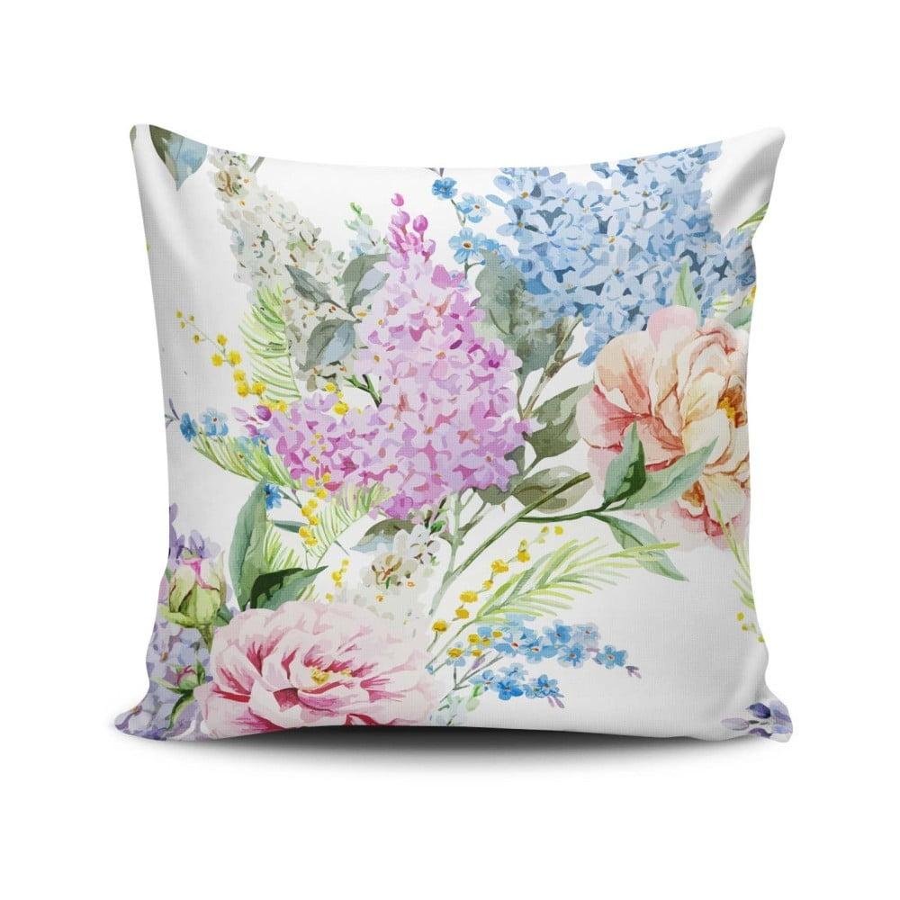 Vankúš s prímesou bavlny Cushion Love Leslie, 45 × 45 cm