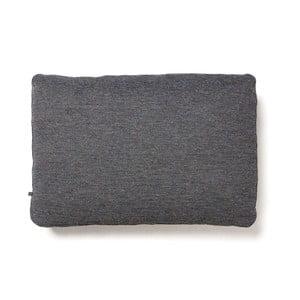 Tmavosivý vankúš na pohovku La Forma, 70 × 50 cm