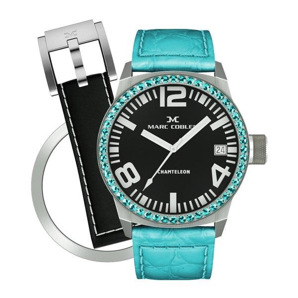 Dámske hodinky Marc Coblen s remienkom a krúžkom na ciferník naviac P104