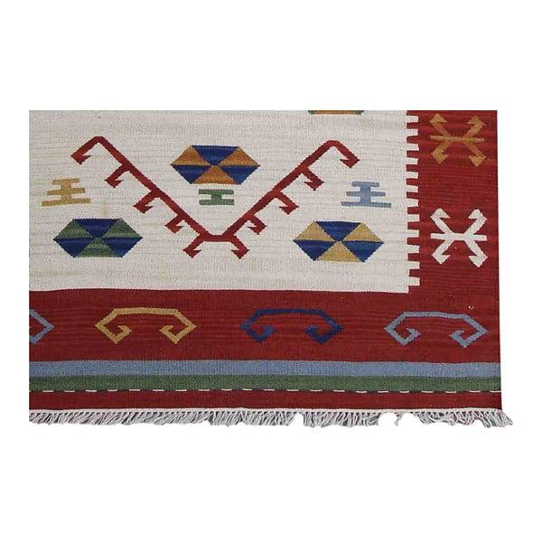 Ručne tkaný koberec Kilim Classic KL81 Mix, 125x185 cm
