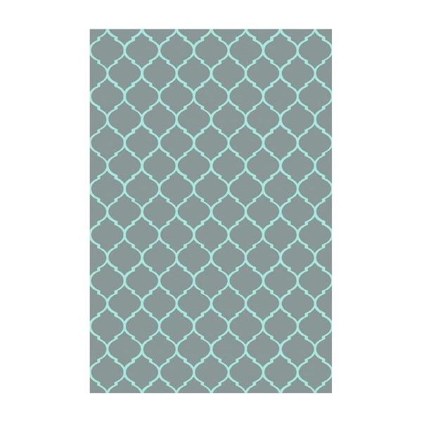 Vinylový koberec Reticular Petróleo, 133x200 cm