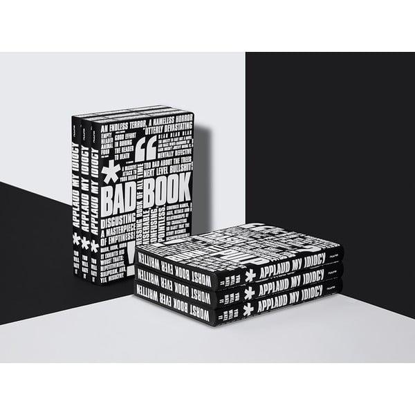 Zápisník Bad Book, 16,5x22 cm