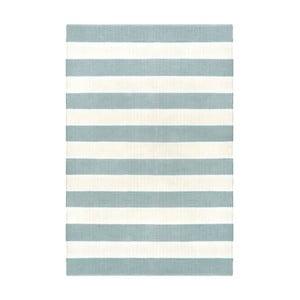 Sivo-modrý obojstranný koberec vhodný aj do exteriéru Green Decore Highway, 90 × 150 cm