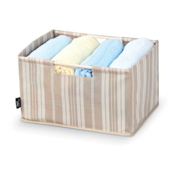 Úložný box Domopak Stripes, dĺžka38cm