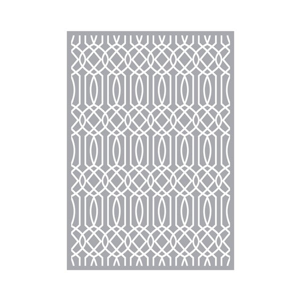 Koberec z vinylu Semitono Gris, 140x200 cm