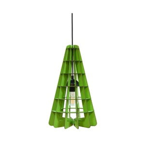 Svietidlo Conic, zelené