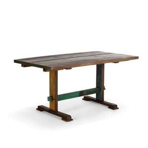 Rozkladací jedálenský stôl z masívu SOB Cross