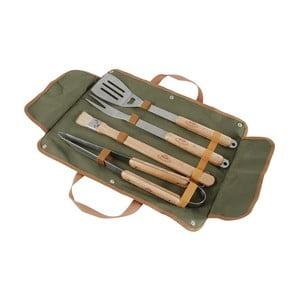 Set ručných nástrojov na grilovanie a puzdra Esschert Design BBQ