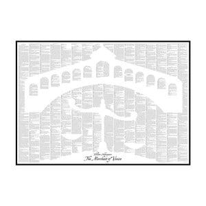 Knižný plagát Benátsky kupec, 70x50 cm