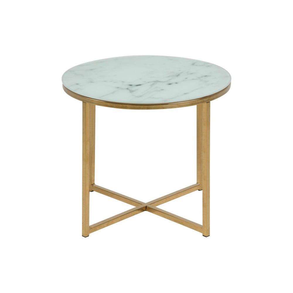Odkladací stolík Actona Alisma, ⌀ 50 cm
