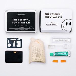 Cestovná sada na hudobný festival Men's Society Festival Survival