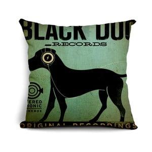 Vankúš Black Dog, 45x45 cm