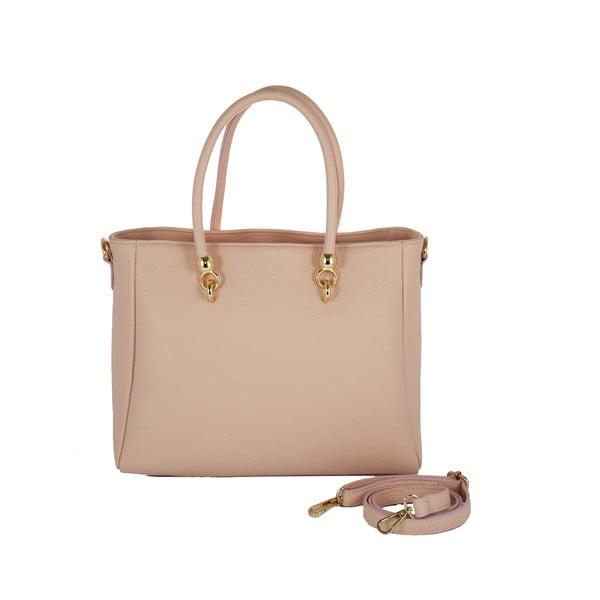 Kožená kabelka Andrea Cardone 2010 Pink
