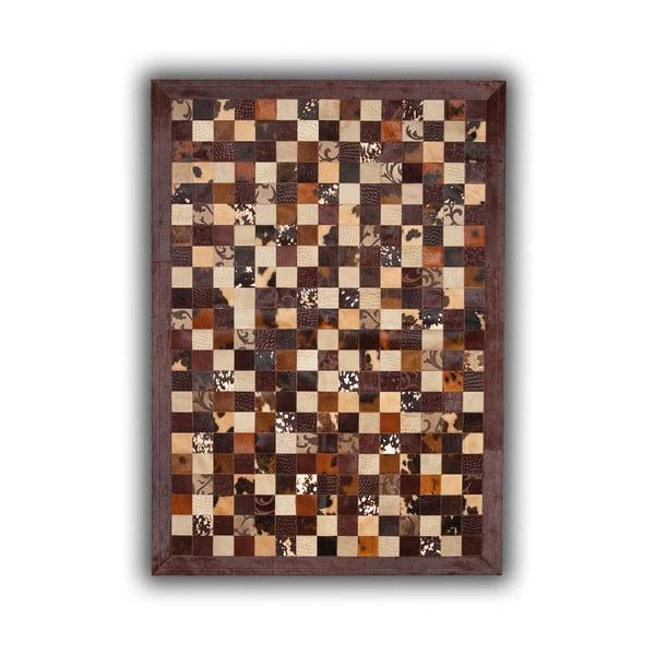 Koberec z pravej kože Grabados, 140x200 cm