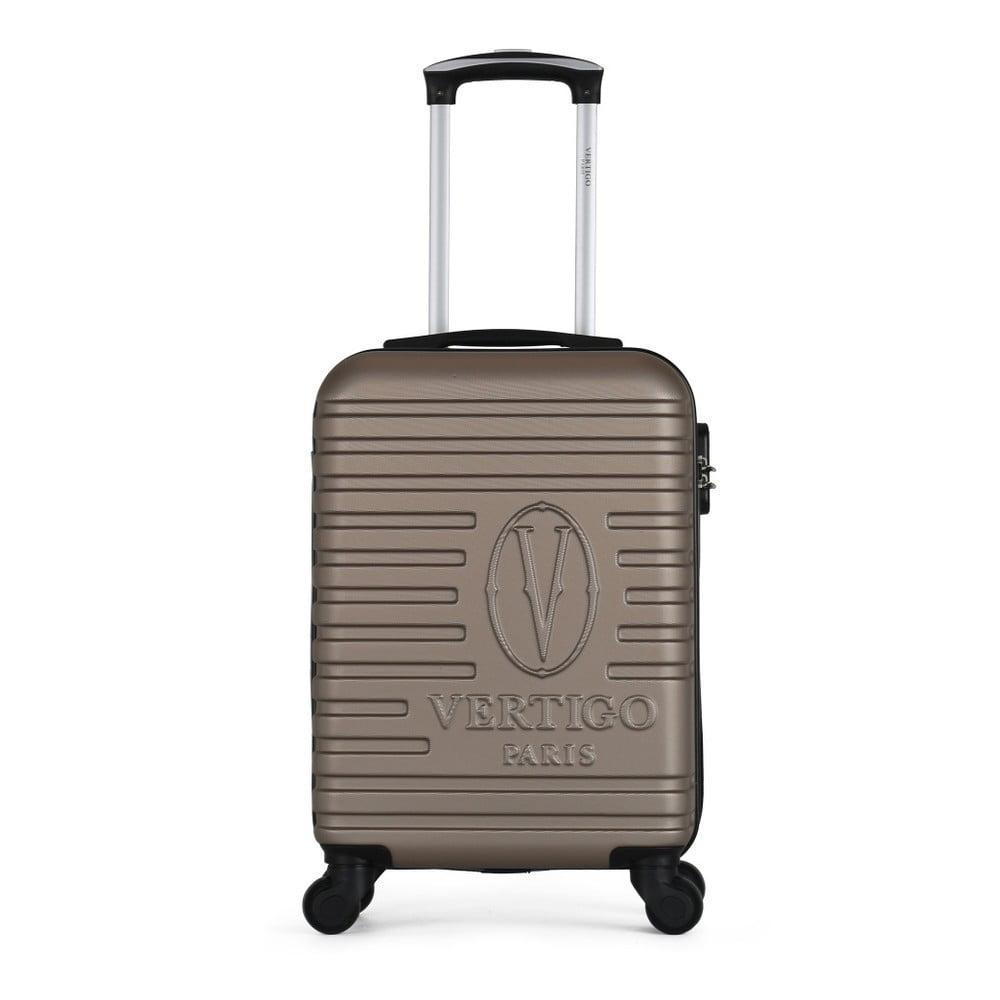 Hnedobéžový cestovný kufor na kolieskach VERTIGO Mureo Valise Cabine, 36 l