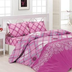 Obliečky Etna Pink, 240x220 cm
