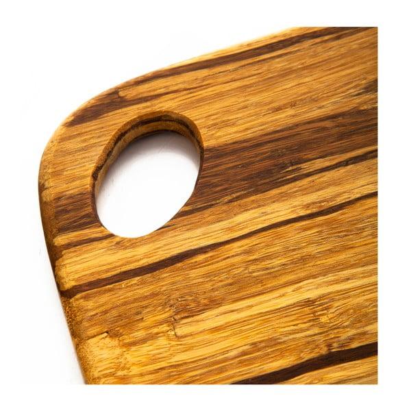 Bambusová doska na krájanie Bambum, 30x23 cm