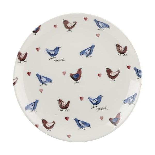 Sada 6 ks tanierov Churchill China Lovebirds, 20 cm