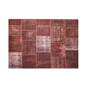Vlnený koberec Allmode Brown Yan, 150x80 cm
