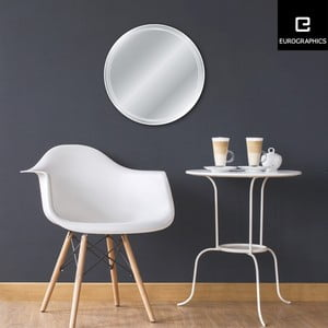 Zrkadlo Eurographics Circle, 50 x 50 cm