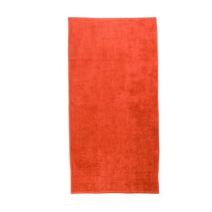 Oranžový uterák Artex Omega, 100 x 150 cm