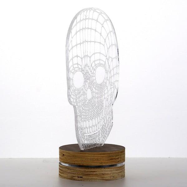 3D stolová lampa Skull