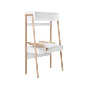 Biely stolík s prebaľovacím pultom KICOTI Space